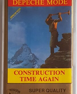 DEPECHE MODE  CONSTRUCTION TIME AGAIN audio cassette