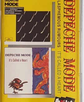 DEPECHE MODE  BLASPHEMOUS RUMOURS IT'S CALLED A HEART audio cassette