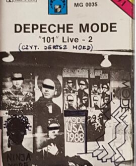 DEPECHE MODE  101 LIVE - 2 audio cassette