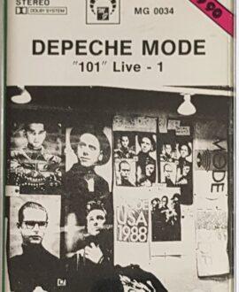 DEPECHE MODE  101 LIVE - 1 audio cassette