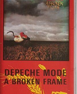 DEPECHE MODE  ABROKEN FRAME audio cassette