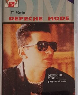 DEPECHE MODE  A MATTER OF TASTE audio cassette