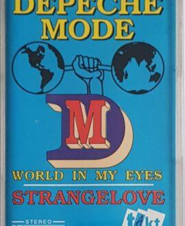 DEPECHE MODE  WORLD IN MY EYES STRANGELOVE audio cassette