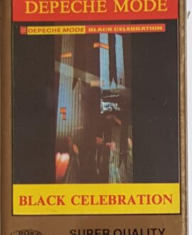 DEPECHE MODE  BLACK CELEBRATION audio cassette