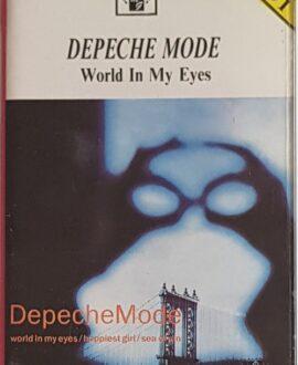 DEPECHE MODE  WORLD IN MY EYES audio cassette