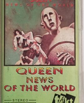 QUEEN  NEWS OF THE WORLD audio cassette