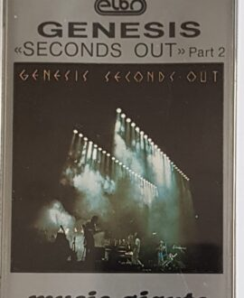 GENESIS  SECOND OUT part 2 audio cassette