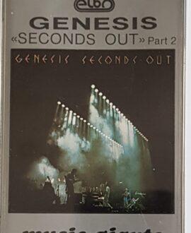 GENESIS  SECOND OUT part 2 audio cassette