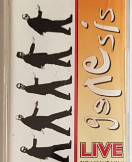GENESIS  LIVE THE WAY WE WALK 2 audio cassette