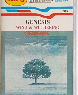 GENESIS  WIND & WUTHERING audio cassette