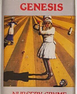 GENESIS  NURSERY CRYME audio cassette