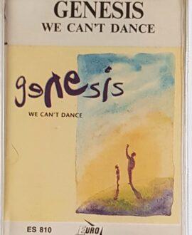 GENESIS  WE CAN'T DANCE audio cassette