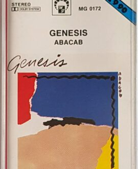 GENESIS  ABACAB audio cassette