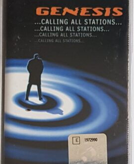 GENESIS  ...CALLING ALL STATIONS...audio cassette