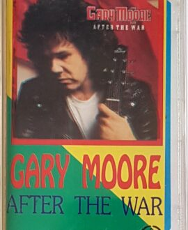 GARY MOORE  AFTER THE WAR audio cassette