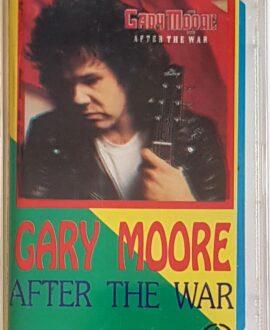 GARY MOORE  AFTER THE WAR audio cassette