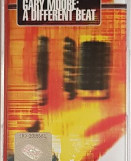 GARY MOORE  A DIFFERENT BEAT audio cassette