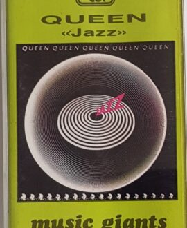 QUEEN  JAZZ audio cassette