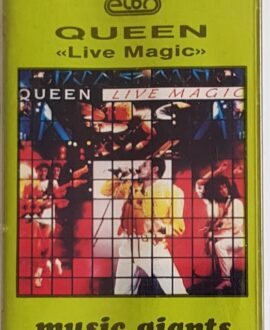 QUEEN  LIVE MAGIC audio cassette