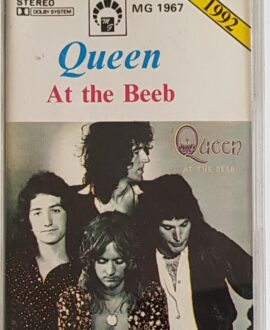 QUEEN  AT THE BEEB audio cassette
