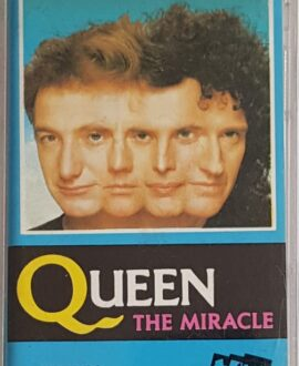 QUEEN  THE MIRACLE audio cassette