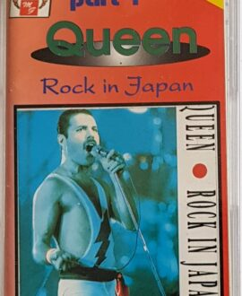 QUEEN  ROCK IN JAPAN part 1 audio cassette