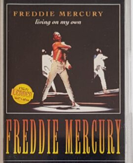 FREDDIE MERCURY  LIVING ON MY OWN audio cassette