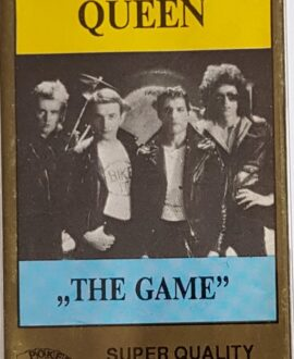 QUEEN  THE GAME audio cassette