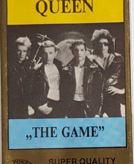QUEEN  THE GAME audio cassette