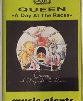QUEEN  A DAY AT THE RACES audio cassette