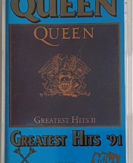 QUEEN  GREATEST HITS II '91 audio cassette