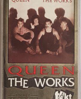 QUEEN  THE WORKS audio cassette