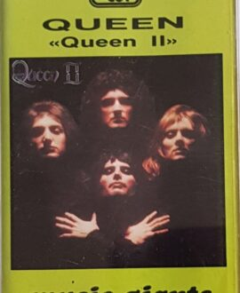 QUEEN  II audio cassette