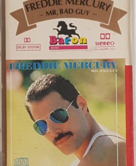 FREDDIE MERCURY  MR. BAD GUY audio cassette