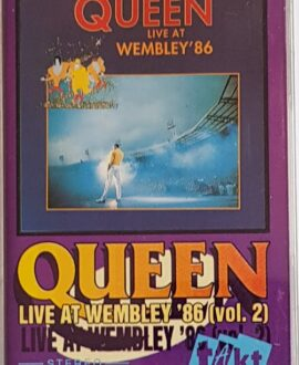 QUEEN  LIVE AT WEMBLEY '86 vol.2 audio cassette