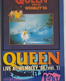 QUEEN  LIVE AT WEMBLEY '86 vol.1 audio cassette