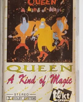 QUEEN  A KIND OF MAGIC audio cassette