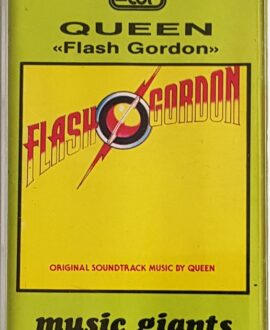 QUEEN  FLASH GORDON audio cassette