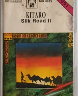 KITARO  SILK ROAD II audio cassette