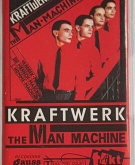 KRAFTWERK  THE MAN MACHINE audio cassette