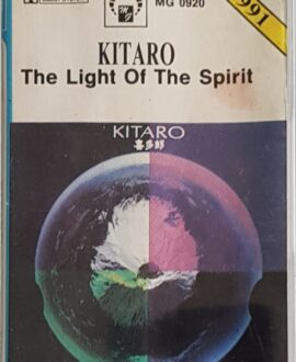 KITARO  THE LIGHT OF THE SPIRIT audio cassette