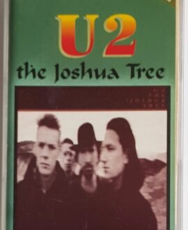 U2  THE JOSHUA TREE audio cassette