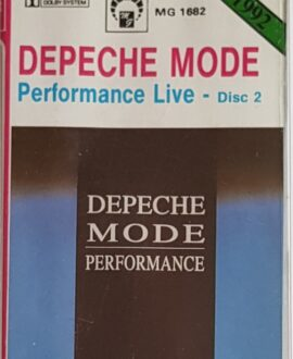 DEPECHE MODE  PERFORMANCE LIVE - DISC 2 audio cassette