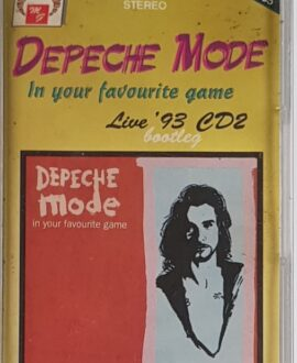 DEPECHE MODE  IN YOUR FAVOURITE GAME LIVE '93 CD2 audio cassette