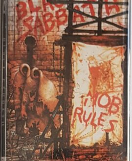 BLACK SABBATH  MOB RULES audio cassette