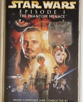STAR WARS  EPISODE I JOHN WILLIAMS audio cassette