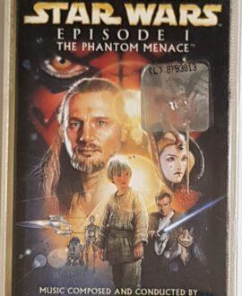 STAR WARS  EPISODE I JOHN WILLIAMS audio cassette