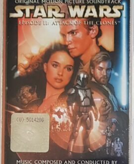 STAR WARS  EPISODE II JOHN WILLIAMS audio cassette