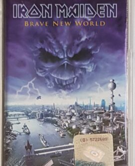 IRON MAIDEN  BRAVE NEW WORLD audio cassette