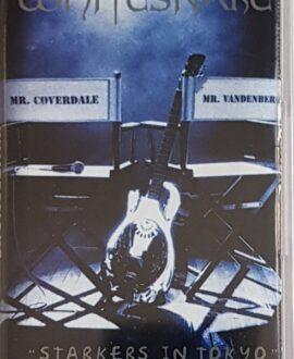 WHITESNAKE  STARKERS IN TOKYO audio cassette